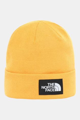 The North Face Gerecyclede Dock Worker Beanie Goud/Zwart