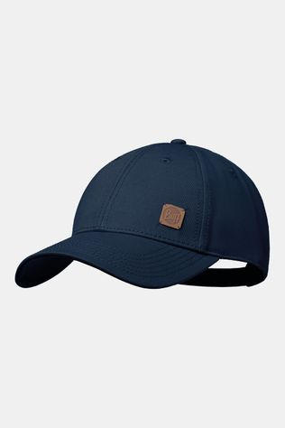 Buff Baseball Cap Solid Navy Dames Blauw