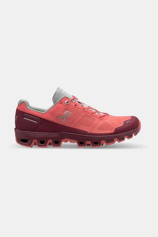 On Running Cloudventure Trail Schoen Dames Zalmroze/Aubergine