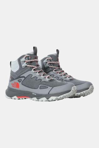 The North Face Ultra Fastpack IV Futurelight Mid Dames Middengrijs/Rood
