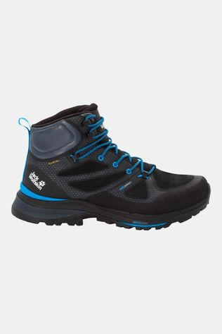 Jack Wolfskin Force Striker Texapore Mid Schoen Zwart