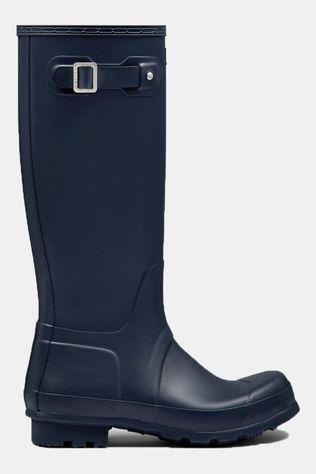 Hunter Original Tall Laars Marineblauw