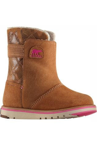 Sorel Rylee Camo Youth Winterschoen Junior Kameelbruin/Middenroze