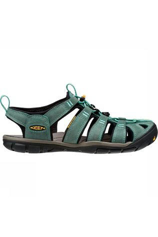 Keen Clearwater CNX Leather Sandaal Dames Lichtgroen