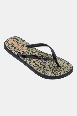 Ipanema Animal Print Slipper Dames Zwart/Assortiment