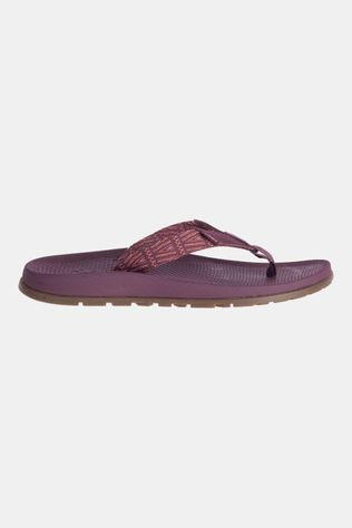 Chaco Lowdown Flip Slipper Dames Aubergine