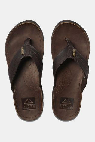 Reef J-Bay III Slipper Donkerbruin/Middenbruin