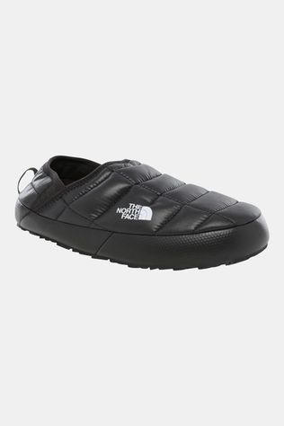 The North Face Thermoball Traction Sloffen V Dames Zwart/Donkergrijs