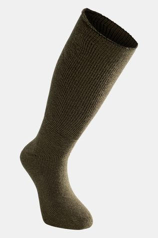 Woolpower Socks Knee-high 600 Very Warm Kniekousen Donkergroen