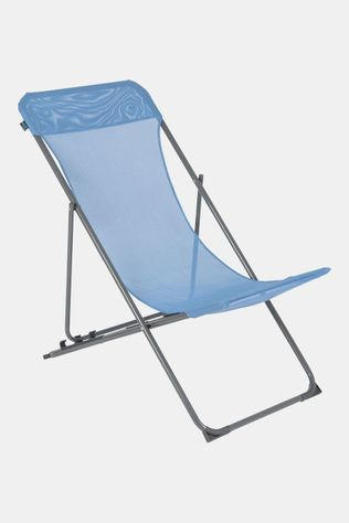 Bo-Camp Beach Chair Flat - 3 standen - Oxford Polyester Blauw