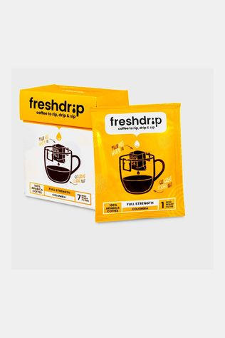 Freshdrip Colombia Full-strength Filterkoffie Geel