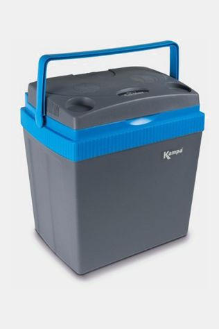 Kampa Thermo Electric Cooler 30Liter  Donkergrijs/Blauw