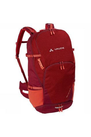 Vaude Bike Alpin 25 + 5L Rugzak Donkerrood