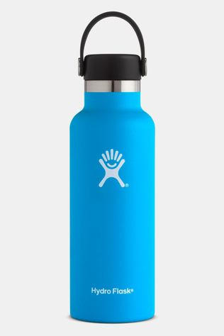 Hydro Flask Standard Mouth 0,5 L Isolatiefles Blauw