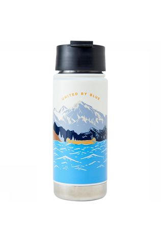 United By Blue Travel Bottle16 Oz Reisfles Wit/Blauw