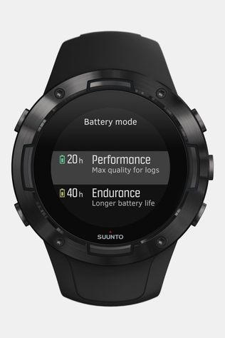 Suunto 5 All Black Horloge Zwart