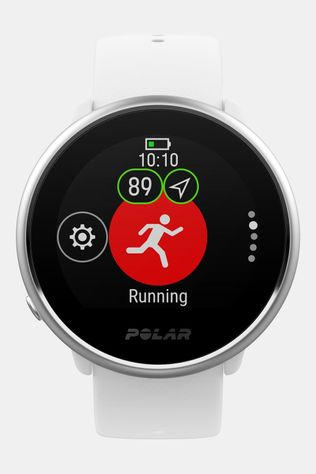 Polar Ignite Fitness Horloge Wit/Zilver