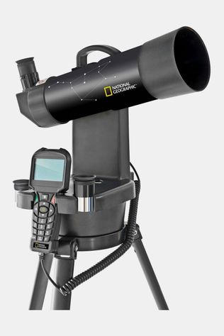 National Geographic Automatic Telescoop 70 Mm Zwart