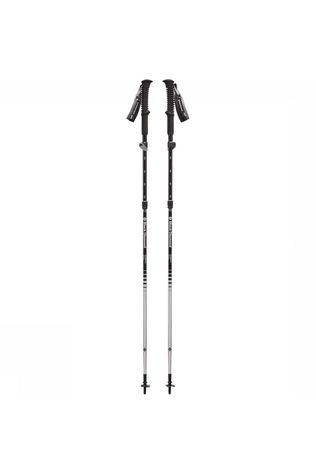 Black Diamond Distance FLZ  Wandelstok Zwart/Wit