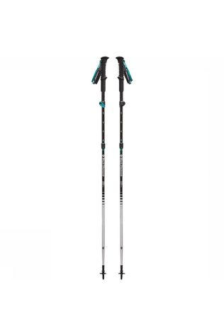 Black Diamond Distance FLZ Wandelstok Dames Zwart/Wit