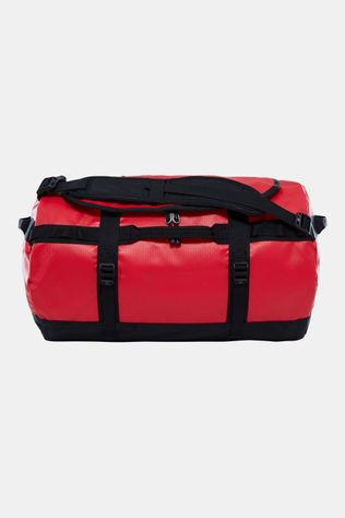 The North Face Base Camp Duffel S Rood/Zwart