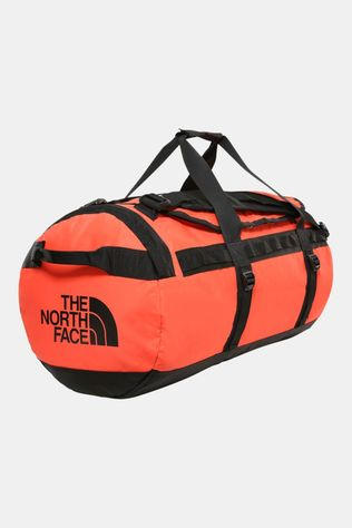 The North Face Base Camp Duffel M Zwart/Oranje