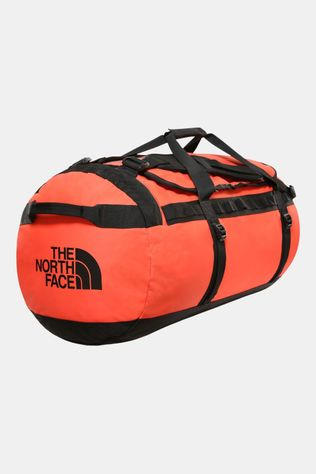 The North Face Base Camp Duffel L Zwart/Oranje