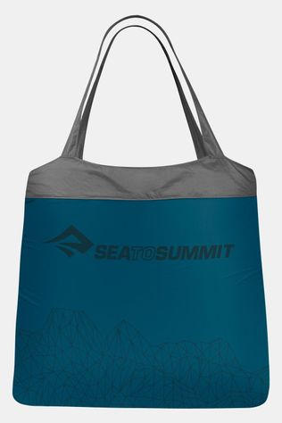 Sea To Summit Nano Shopping Bag Opvouwbare Boodschappentas Donkerblauw