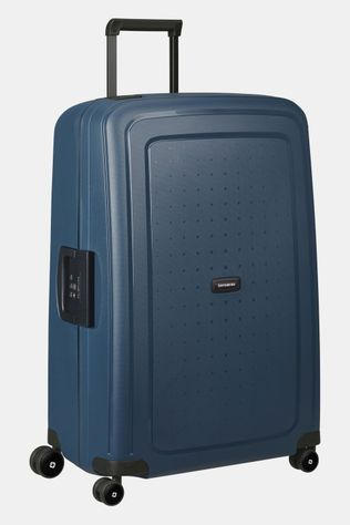 Samsonite  S'Cure Eco Spinner 75/20 Trolley Donkerblauw