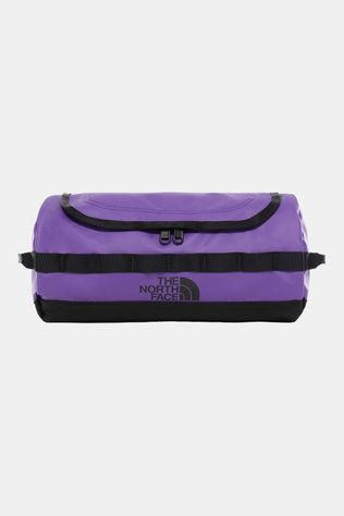 The North Face Base Camp Travel Canister L Toilettas Paars/Zwart