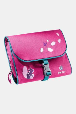 Deuter Wash Bag Toilettas Junior Middenroze/Blauw