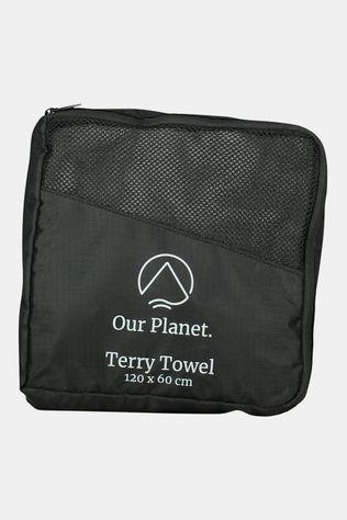 Our Planet Terry Towel 120x60 Handdoek Middengrijs