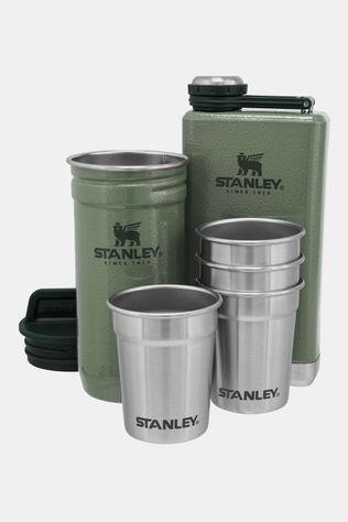 Stanley Shot Glasses + Flask 0,236L Set Groen/Middengroen