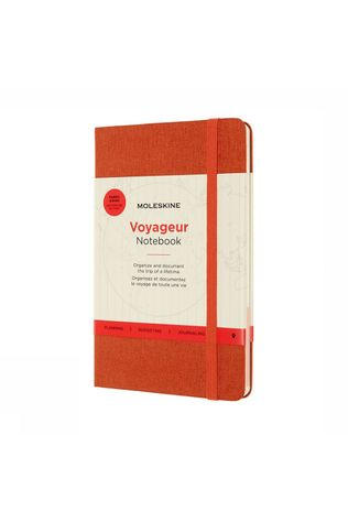 Moleskine Voyageur Travellers Notebook Middenrood