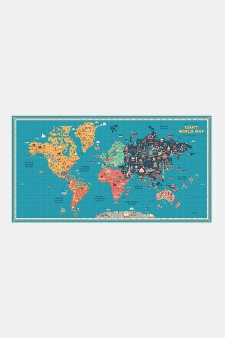 Create Your Own Giant World Map Muurkaart