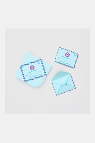 Suck UK Mini Mail Envelopjes Blauw