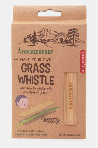 Kikkerland Huckleberry Grass Whistle Lichtbruin