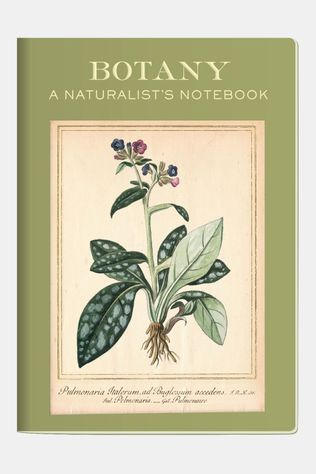 Unemployed Philosophers Guild Notebook Botany Geen Kleur