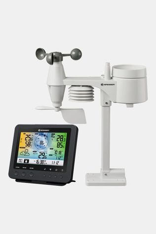 Bresser Wifi Color Weather Center With 5-In-1 Profi Sensor Zwart
