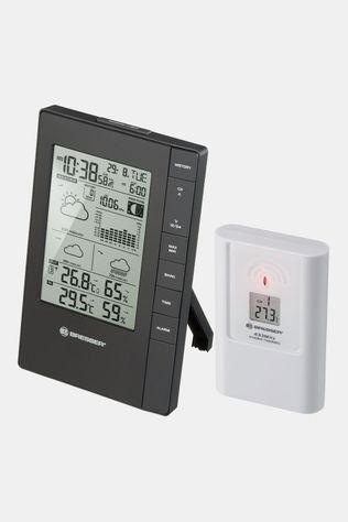 Bresser Rc Thermo-Hygro Weather Station W. 3-Day Forecast Zwart