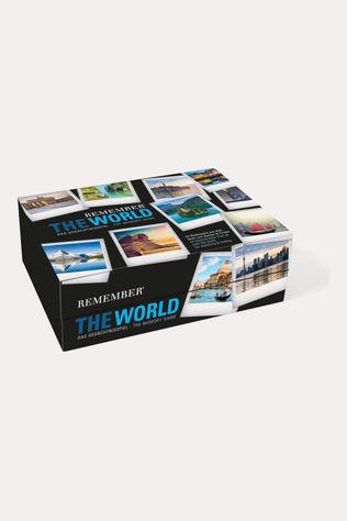 Qualy Remember memory game the world 44 Geen Kleur