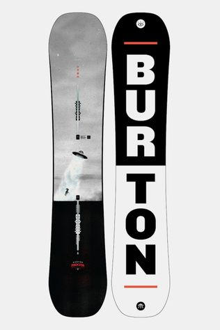 Burton Process Flying V Wide Snowboard Zwart/Wit