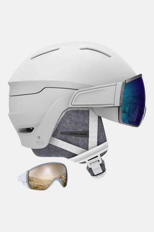 Mirage White Skihelm Dames