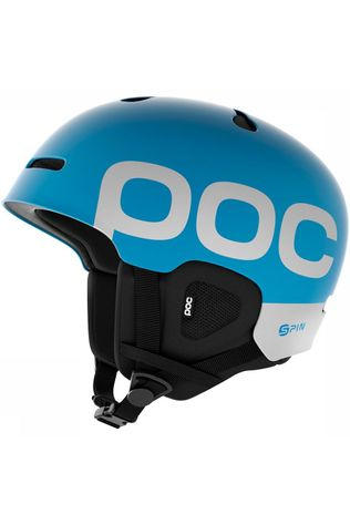 POC Auric Cut Backcountry SPIN Helm Blauw/Wit