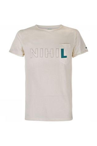 Nihil Nihil Pop-Up Shirt Gebroken Wit