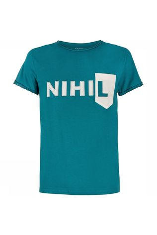 Nihil Nihil Pop-Up Shirt Petrol
