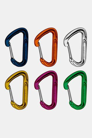 Mammut Wall Light Sixpack Set karabiners Assortiment
