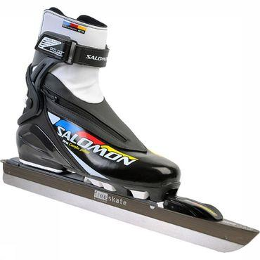 Allround XL + Salomon Pro Combi Pilot Schaats