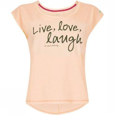 Live Love Laugh Tee Shirt Dames