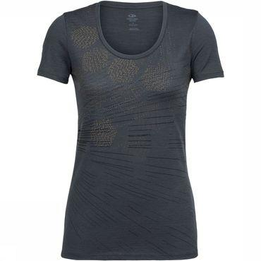 Tech Lite SS Scoop Refraction T-shirt Dames